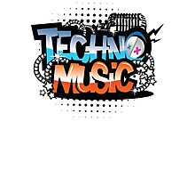 Techno Music Photographic Print