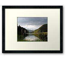 Mountain lake  - Colorado Framed Print