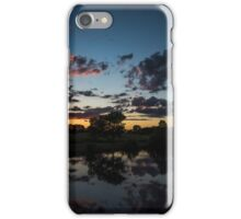 after the sunset iPhone Case/Skin