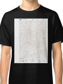 USGS Topo Map Oregon Groundhog Mountain 20110810 TM Classic T-Shirt