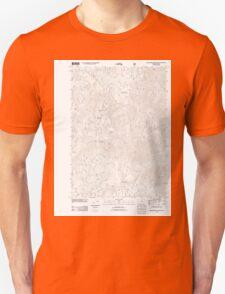 USGS Topo Map Oregon Groundhog Mountain 20110810 TM T-Shirt