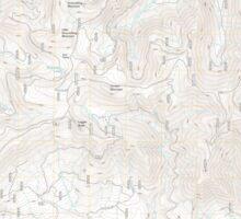 USGS Topo Map Oregon Groundhog Mountain 20110810 TM Sticker