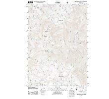 USGS Topo Map Oregon Groundhog Mountain 20110810 TM Photographic Print