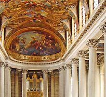 Chapel At Versailles by Al Bourassa
