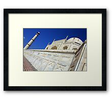Along Western Wall Framed Print