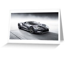 2017 Ford GT Greeting Card