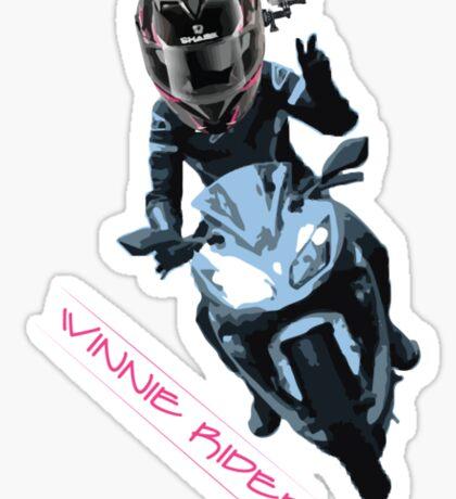 Winnie Rider Merch Sticker