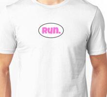 """Hot Pink """"run.""""  Unisex T-Shirt"""