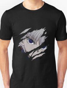hunter x hunter killua assassin anime manga shirt T-Shirt