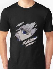 hunter x hunter killua assassin anime manga shirt T-Shirt