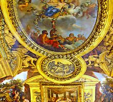 Magnificent Frescoes Of Versailles by Al Bourassa
