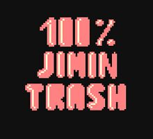 100% Jimin trash Womens Fitted T-Shirt