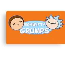 Schwifty Grumps (Rick And Morty) Canvas Print