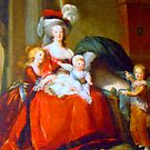 Marie Antoinette & Children by Al Bourassa