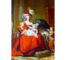 Marie Antoinette & Children Photographic Print
