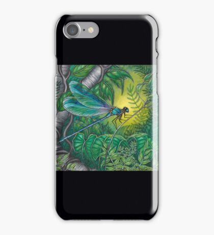 """""""Dragonfly Dreaming"""" iPhone Case/Skin"""