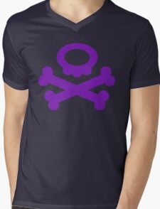 Pokemon Koffing Symbol Mens V-Neck T-Shirt