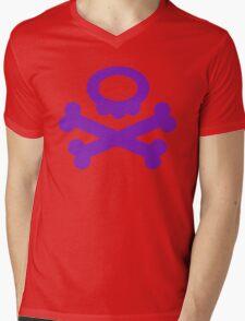 Pokemon Koffing Symbol Mens V-Neck T-Shirt
