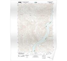 USGS Topo Map Oregon Connor Creek 20110831 TM Poster