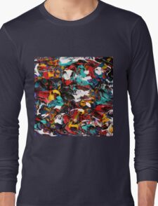 Original Psychedelic Art Long Sleeve T-Shirt