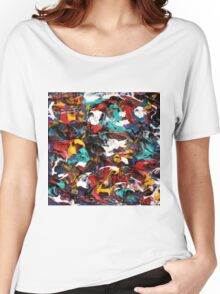 Original Psychedelic Art Women's Relaxed Fit T-Shirt
