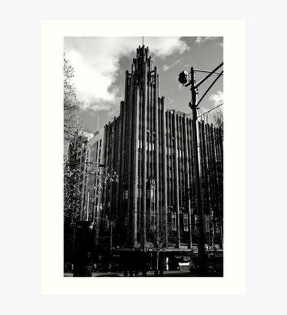 The Manchester Unity Building Melbourne Art Print