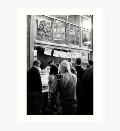 The Borek Shop - Melbourne Art Print