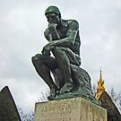 The Thinker, By Auguste Rodin by Al Bourassa