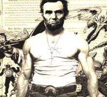 Wolverine-Lincoln Mutant Emancipation Sticker