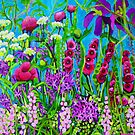 Cottage Garden by marlene veronique holdsworth