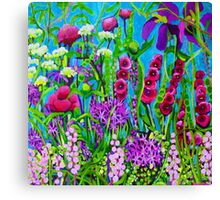 Cottage Garden Canvas Print