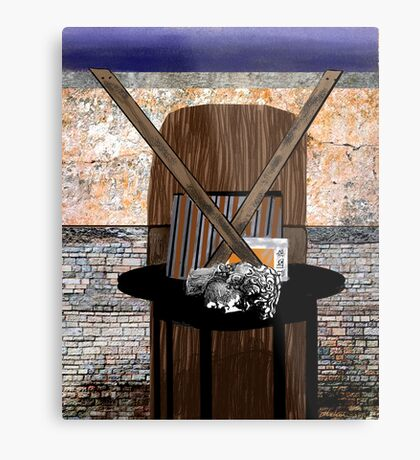 """""""Sign of the Theory"""" - Abstract Metal Print"""