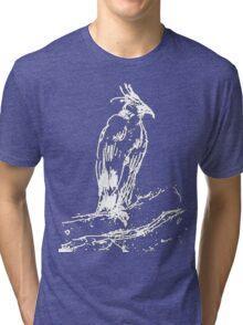 Black Eagle Sketch by Whistler Tri-blend T-Shirt