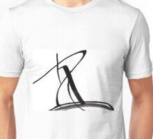Black and White Design  Unisex T-Shirt