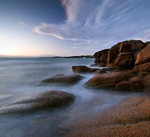 Honeymoon Bay, Tasmania by Michael Treloar