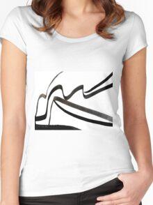 Original Ink Design  Women's Fitted Scoop T-Shirt