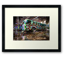 Party Bus - RIP Framed Print