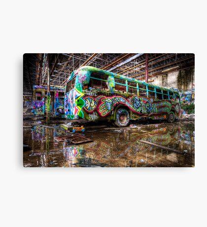 Party Bus - RIP Canvas Print
