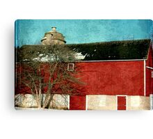 Old Red Barn ©  Canvas Print