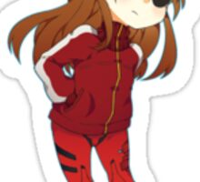 Asuka Langley Soryu Sticker Sticker