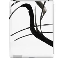 Abstract Ink Painting  iPad Case/Skin