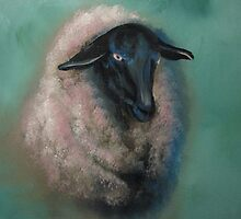 Sheep-John 10:14-21 by JeffeeArt4u