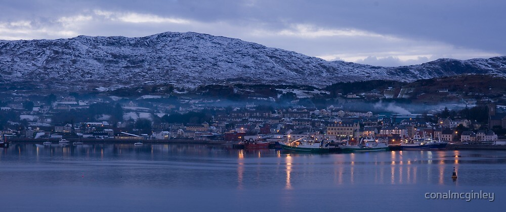 killybegs dusk by conalmcginley