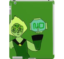 Peridot Says No iPad Case/Skin