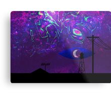 Mysterious Lights (Welcome to Night Vale) Metal Print