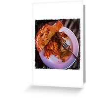 iPhone - Indian Cuisine Greeting Card