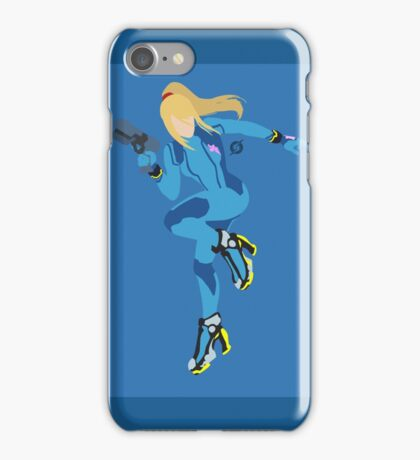 Zero Suit Samus - Super Smash Bros. iPhone Case/Skin