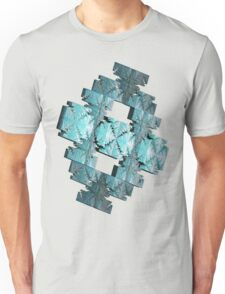 LIGHT BLUE ABSTRACT # 2  Unisex T-Shirt