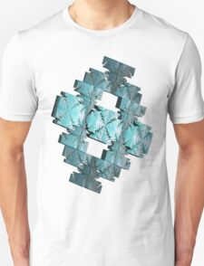 LIGHT BLUE ABSTRACT # 2  T-Shirt
