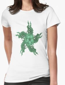 GREEN STAR Womens Fitted T-Shirt